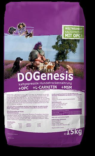 Hundefutter mit OPC - DOGenesis - Robert Franz 15Kg