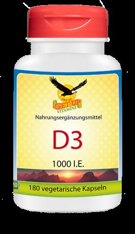 Vitamin D3 1000 IU Get Up